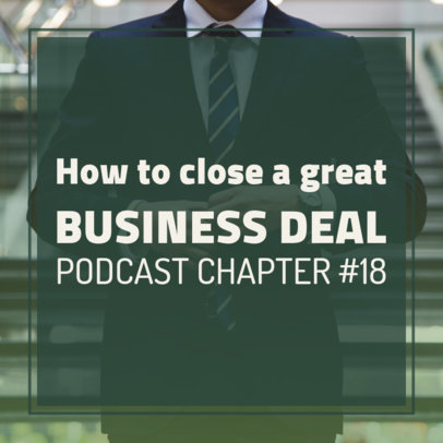 Podcast Cover Generator with Tips for Running a Business 1722j