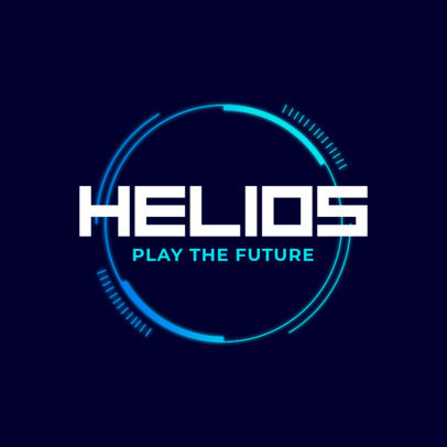 Simple Logo Generator for Futuristic Video Games 2479f