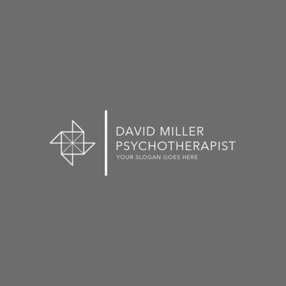 Minimalist Logo Maker for a Psychotherapist 1523f-2477