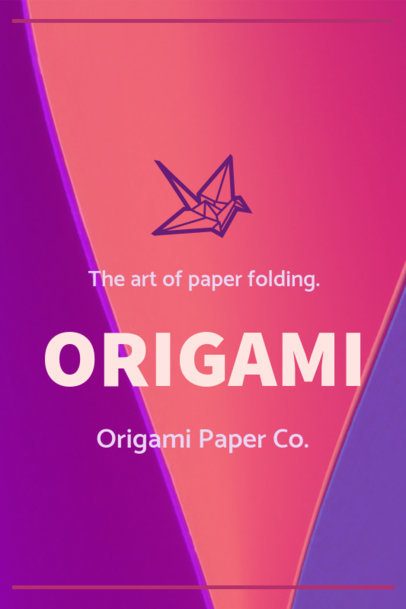 Pinterest Pin Maker for an Origami Tutorial 1121a--1762