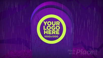 Logo Reveal Intro Maker with Animated Gravestones 1919