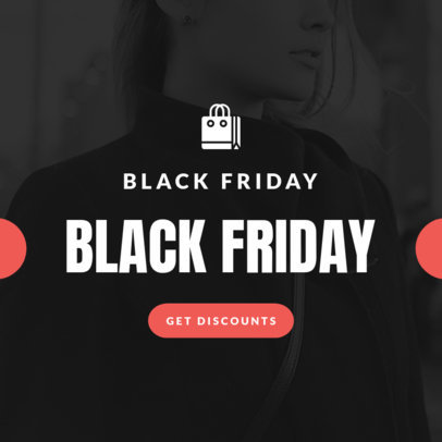 Ad Banner Maker for a Black Friday Promo 746a-1903