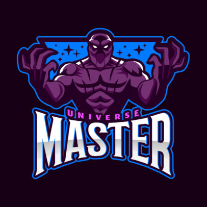 Logo Maker Featuring a DOTA 2 Inspired Character 2499hh