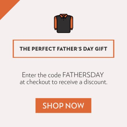 Online Banner Maker for a Father's Day Special Sale 745g-1903