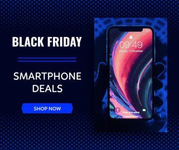 Facebook Post Maker for a Smartphone Black Friday Sale 645g-1784