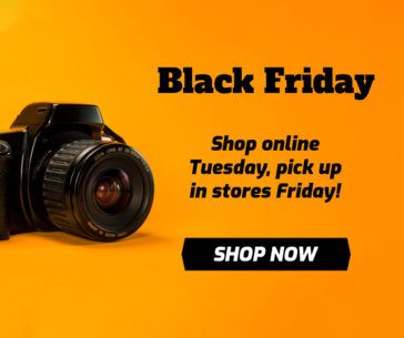 Facebook Post Maker with a Camera for Black Friday 635i-1784