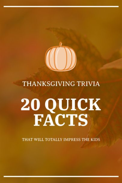 Pinterest Pin Generator for a Thanksgiving-Themed Trivia 1768e