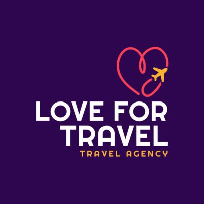 Minimalistic Logo Creator for Travel Lovers 2504g