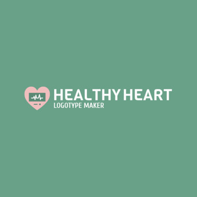 Online Logo Maker for a Heart Failure Clinic 2509e