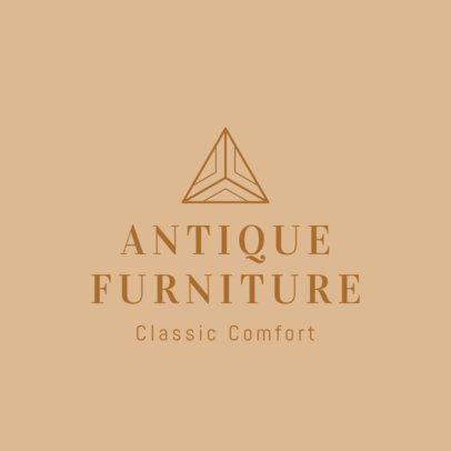 Online Logo Maker for an Antique Furniture Store 1326g-2535