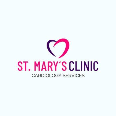 Cardiology Services Logo Maker 2508a