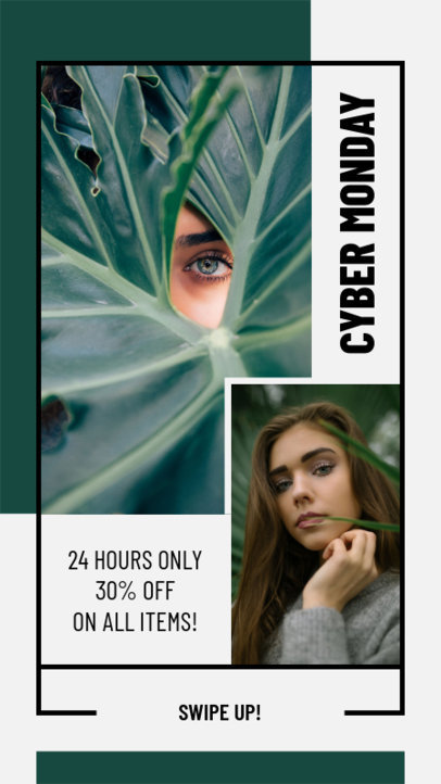 Cyber Monday Instagram Story Generator for Fashion Brands 965f-1793