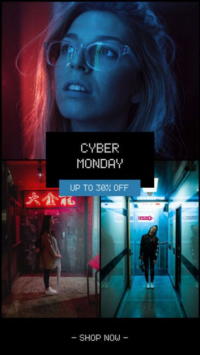 Instagram Story Generator for Cyber Monday Discounts 964f-1793