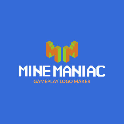 Gaming Logo Maker for Minecraft Streamers 2554b