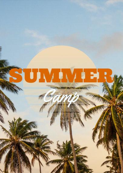 Summer Camp T-Shirt Design Maker 21e--1819