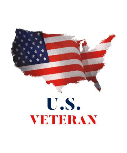T-Shirt Design Creator for Veterans Day with a US Map 1815l