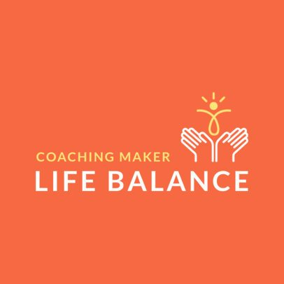 Coaching Logo Template for a Balanced Life 2552g