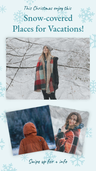 Christmas Instagram Story Maker for Snow-Covered Places Recommendations 971f 1826
