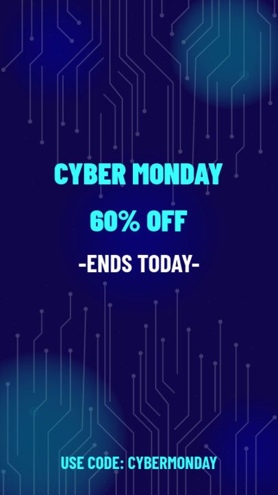 Cool Instagram Story Generator for Cyber Monday Deals 1792b
