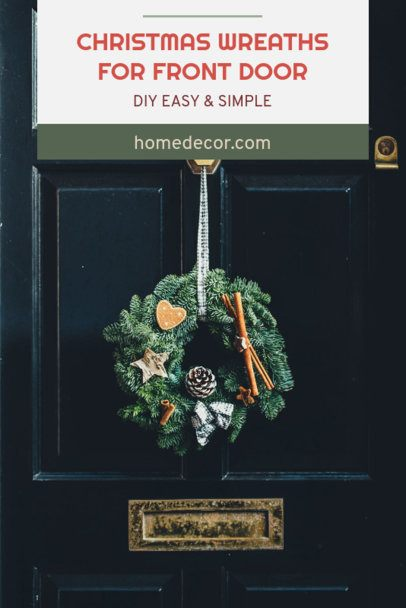 Pinterest Pin Template for an Easy DIY Christmas Wreath 661g 1836