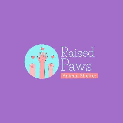 Animal Shelter Logo Maker with a Heartwarming Icon 2581e