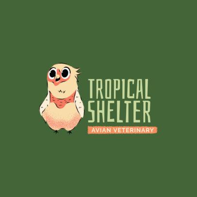 Logo Maker for an Avian Veterinary 2581d