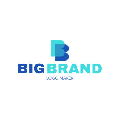 Company Logo Maker with Overlapping Icons 1518l-2584