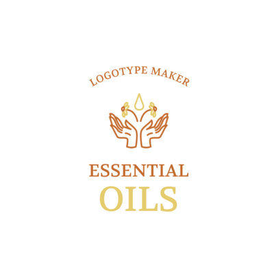 Logo Generator for an Essential Oils Brand 2580g