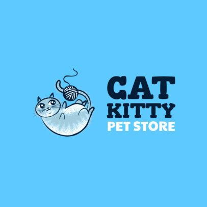Logo Maker for a Cat Focused Pet Store 2582g