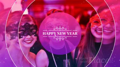 Slideshow Maker for a New Year's Celebration 1966
