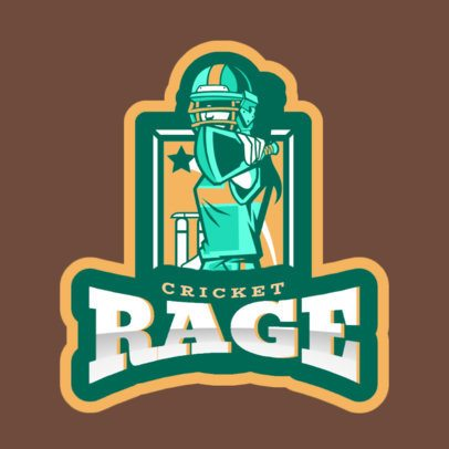 Cricket Logo Maker Featuring a Female Character 1649f-2601