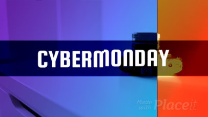 Cyber Monday Intro Maker Featuring Glitch Effects 1643b-140