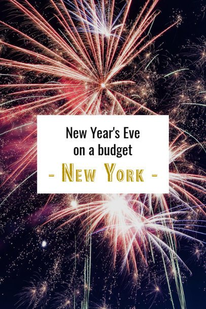 Pinterest Pin Template for a New Year's Eve on a Budget 1128h-1869