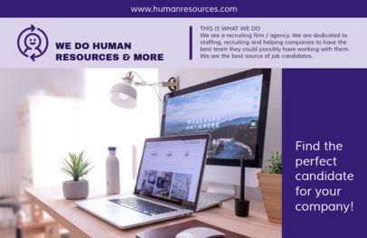 Online Flyer Maker for Human Resources  229c