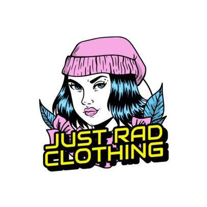 Santa Cruz Inspired Logo Maker for a Streetwear Brand 2592d