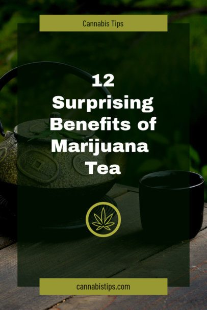 Pinterest Pin Maker for a Post About Benefits for Marijuana Users 659n - 1894