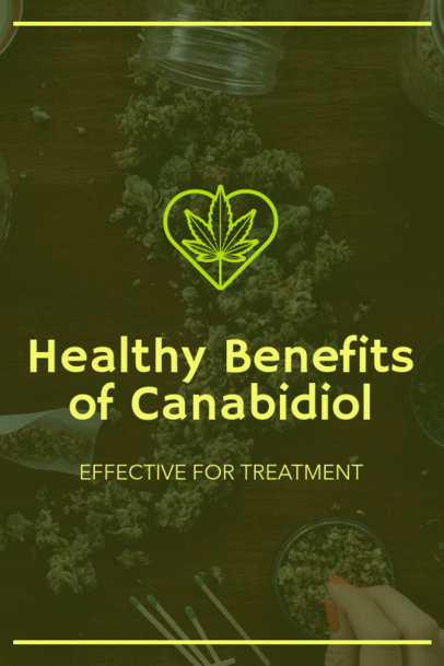 Pinterest Pin Generator for a CBD Benefits Post 1768g-1894