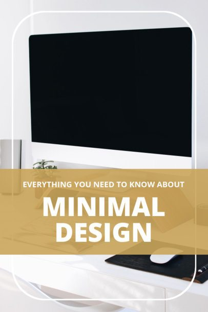 Pinterest Pin Maker About Minimal Design 1885d
