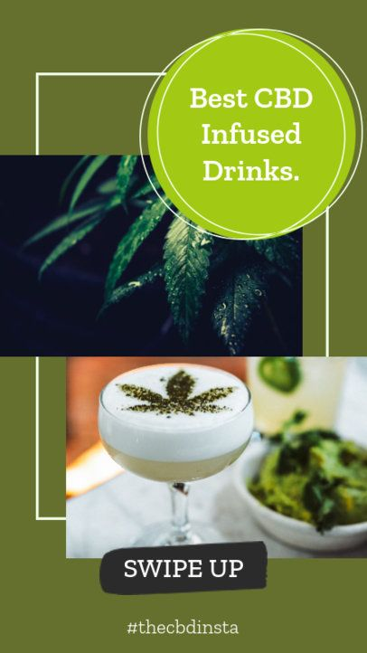 CBD-Themed Instagram Story Maker for a Marijuana Story 858f-1889