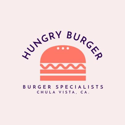 Retro Logo Generator for a Burgers Restaurant 1213f 50-el