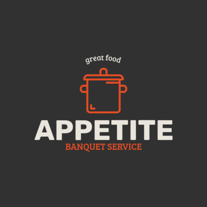 Banquet Services Logo Maker for Catering Companies 1924g 35-el