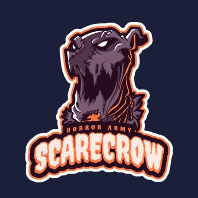 LOL-Inspired Logo Maker Featuring an Evil Scarecrow 2619j