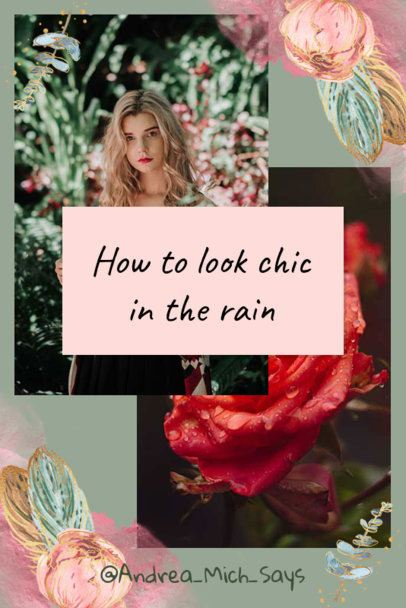Pinterest Post Generator for a Chic Collage 1901f