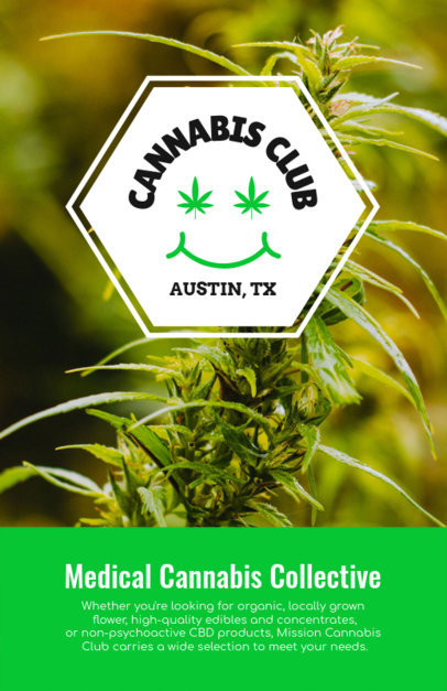 Flyer Generator for a Cannabis Club 1893d