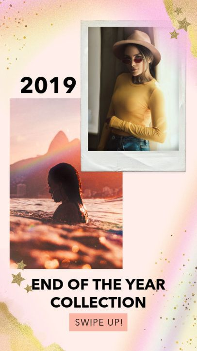 Instagram Story Template for a Fashion's Brand Upcoming Collection 1899d