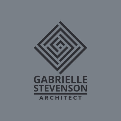 Architect Logo Generator with an Abstract Style 1282i-2639