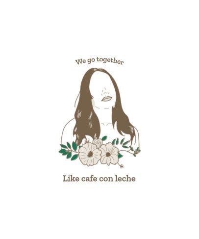 Latina Women T-Shirt Design Generator for Female Empowerment 1920h