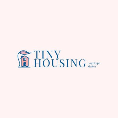 Logo Maker for Tiny Housing Contractors 2630e
