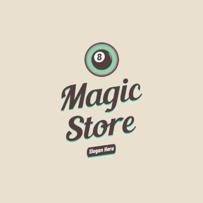 Magic Store Logo Creator with a Retro Approach 2627e