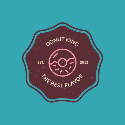 Online Logo Template for a Donut Shop 1013h 71-el